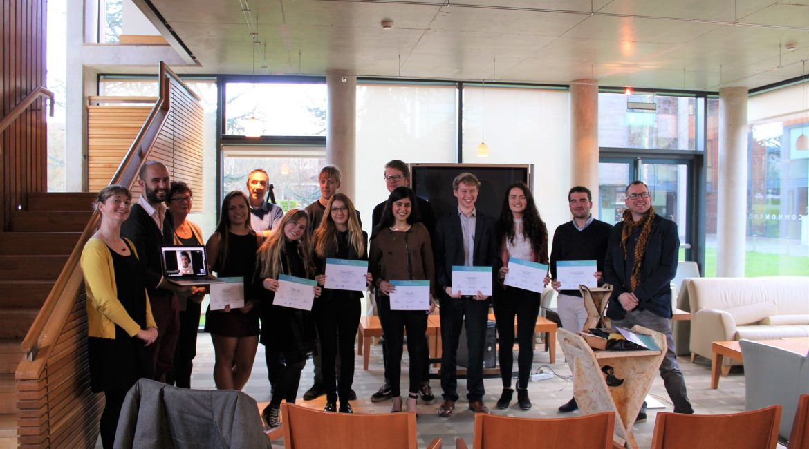 The Circular Design Internship in School of Design, University of Limerick, successfully completed