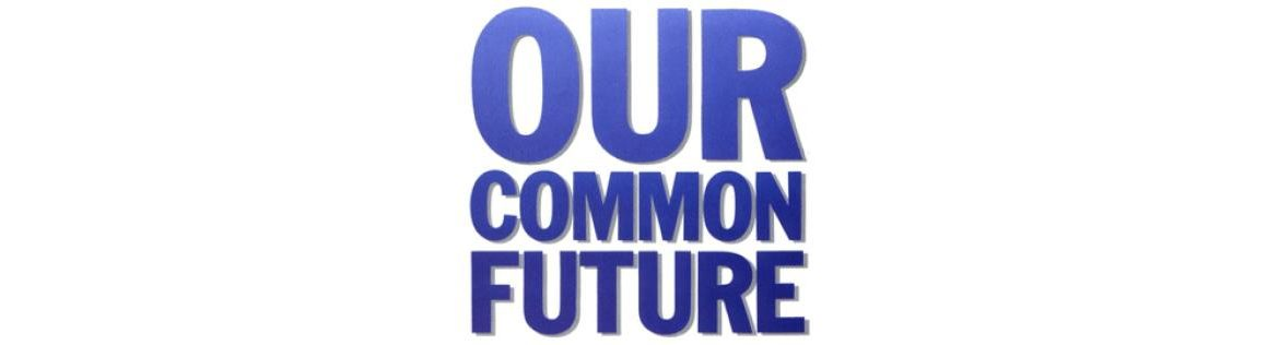 Our Common Future: Report of the World Commission on Environment and Development