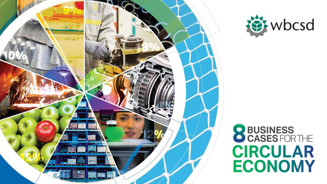 8 Business cases for the circular economy