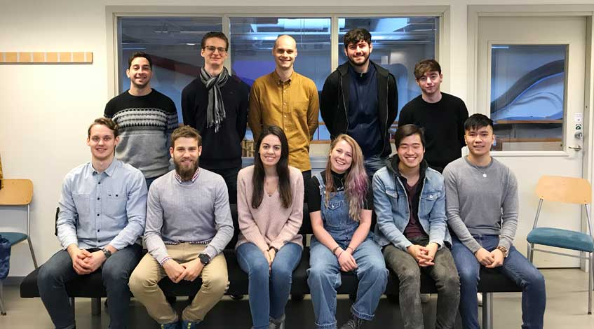 The Fourth and Final Internship Starts in LiU, Sweden