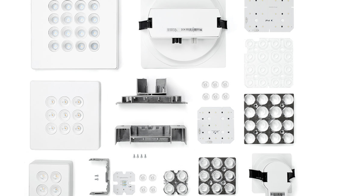 The 5th case study: the Cool Downlight by Simon, a new way to increase efficiency of downlights